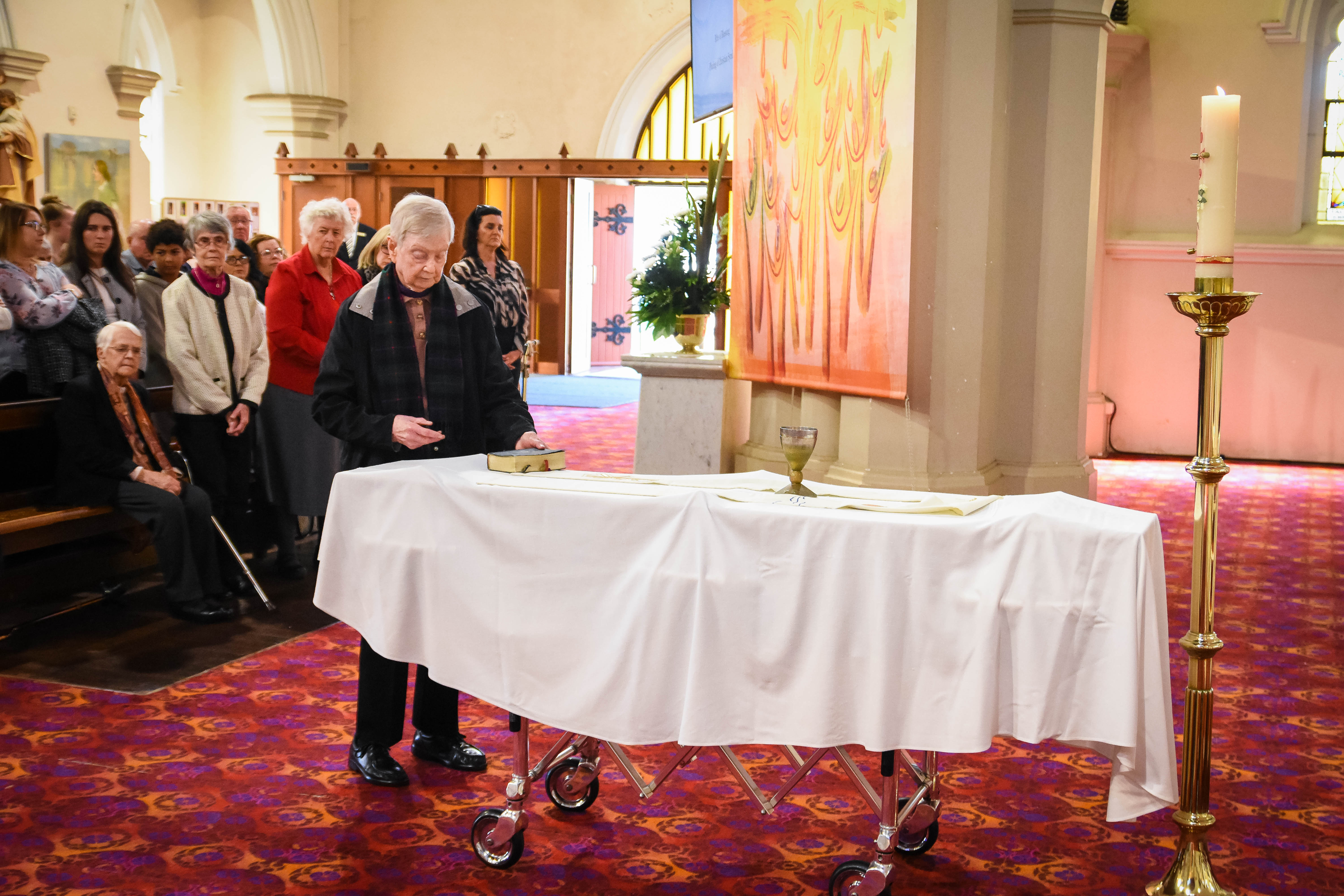 Fr Pat Hall Funeral