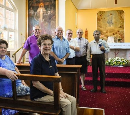 Holy Name Church Toowoomba Parishioners